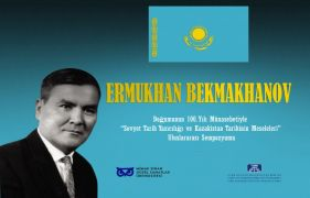 International symposium on Kazak historian Yermukhan Bekmakhanov in Istanbul