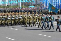 Kazakhstan army: What was achieved untill the anniversary?