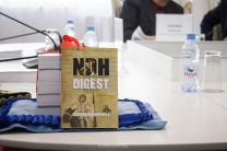 "COLLECTON OF HISTORICAL ARTICLES ""NDH DIGEST"" WAS PRESENTED IN ASTANA"