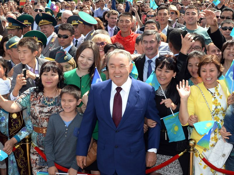 History of inauguration of the President of Kazakhstan
