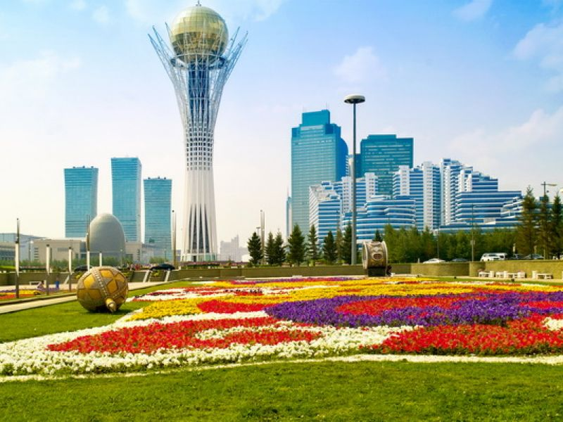 Astana is the first successfully implemented a strategic idea of our country - Nursultan Nazarbayev