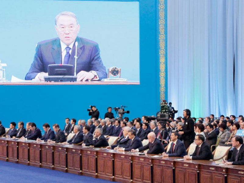 The historical discourse in the Addresses of President N.A.Nazarbayev