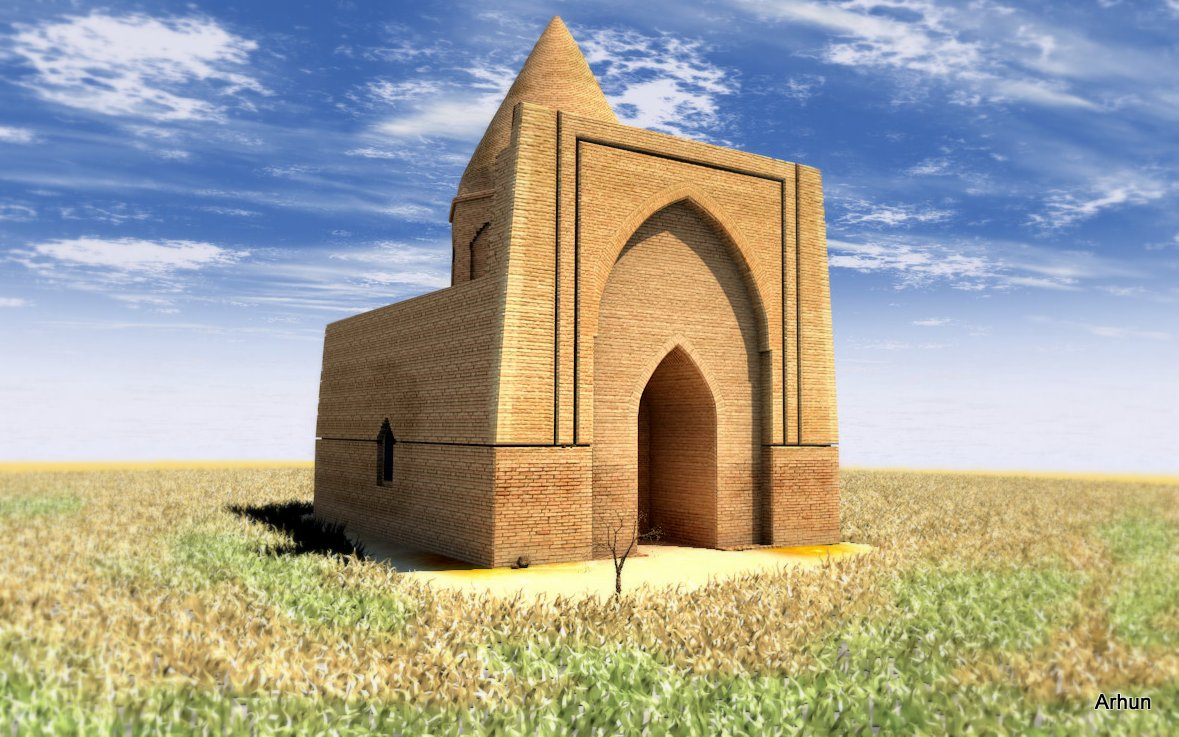 Treasure of steppe culture – Abat Baitak mausoleum