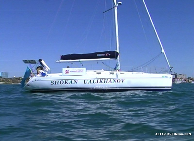 For the first time Kazakh yacht crossed the Atlantic Ocean