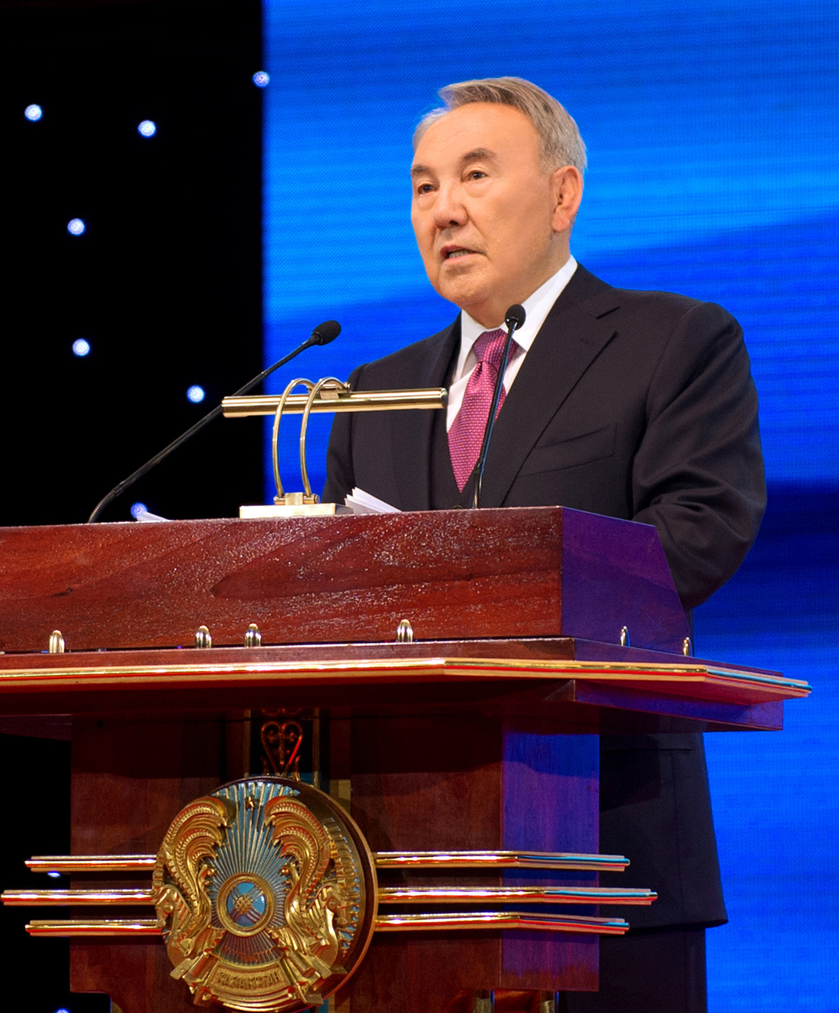 A solemn meeting devoted to the Independence Day of the Republic of Kazakhstan was held on December 14, 2013 with the participation of the President Nursultan Nazarbayev.