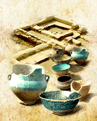 Archeological excavations