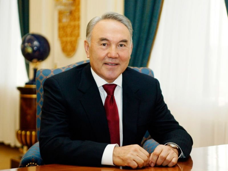 "Nursultan Nazarbayev. ""Leader's way"" (Infographics)"