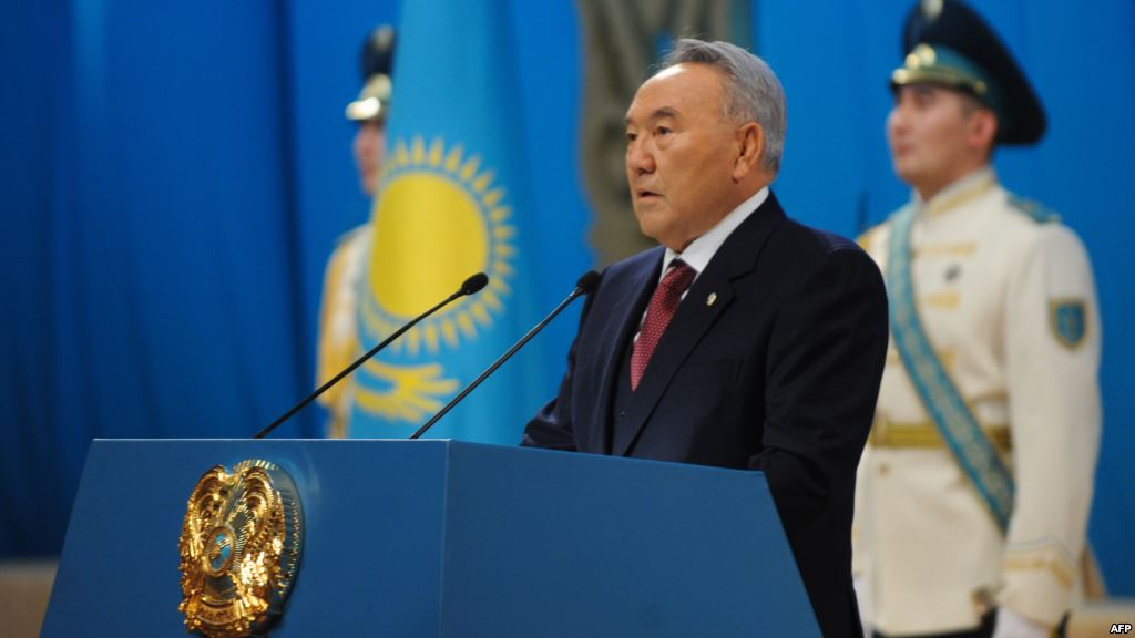 "President Nursultan Nazarbayev delivered a speech with Address to the People of Kazakhstan ""Through Crisis to Renovation and Prosperity"", March 6, 2009"
