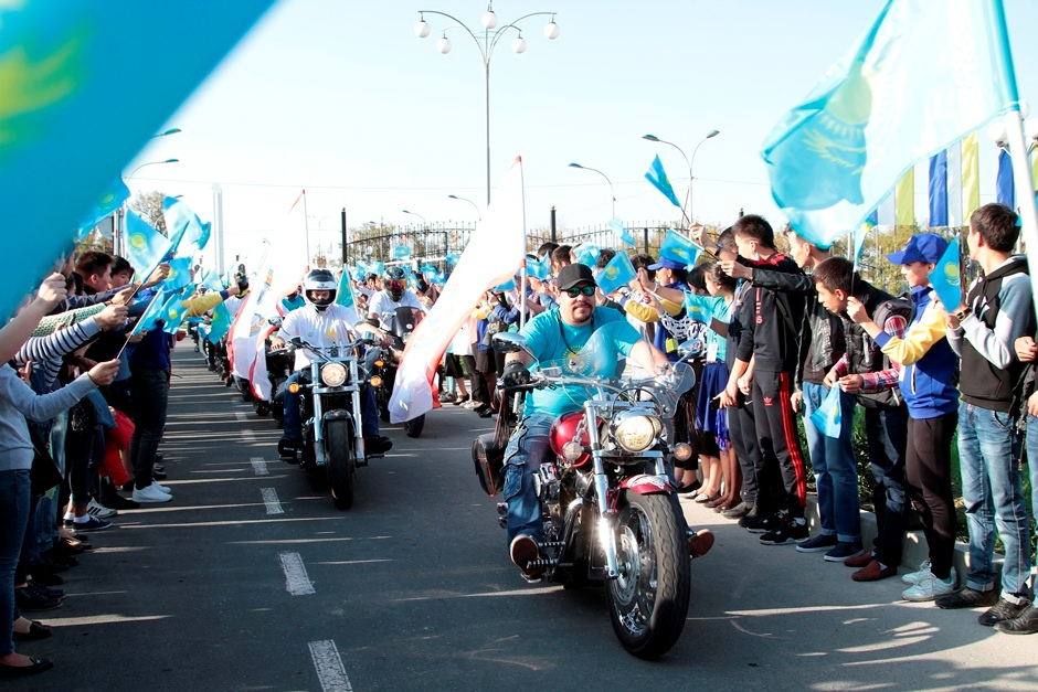 The moto expedition devoted to the 550th anniversary of the Kazakh Khanate