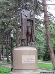 In 2005, a monument dedicated to Kazakh batyr Baurzhan Momyshuly was opened in Zhana zhol village of Shu district