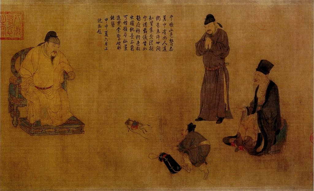What happened between Timur and the Chinese Emperor?