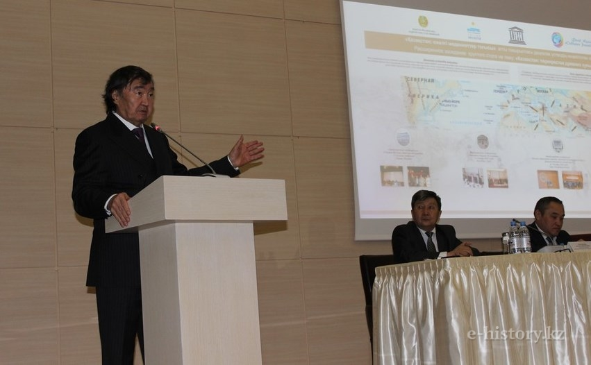"Olzhas Suleymenov initiates the establishment of ""Atlas of the Great Migrations of Peoples"""